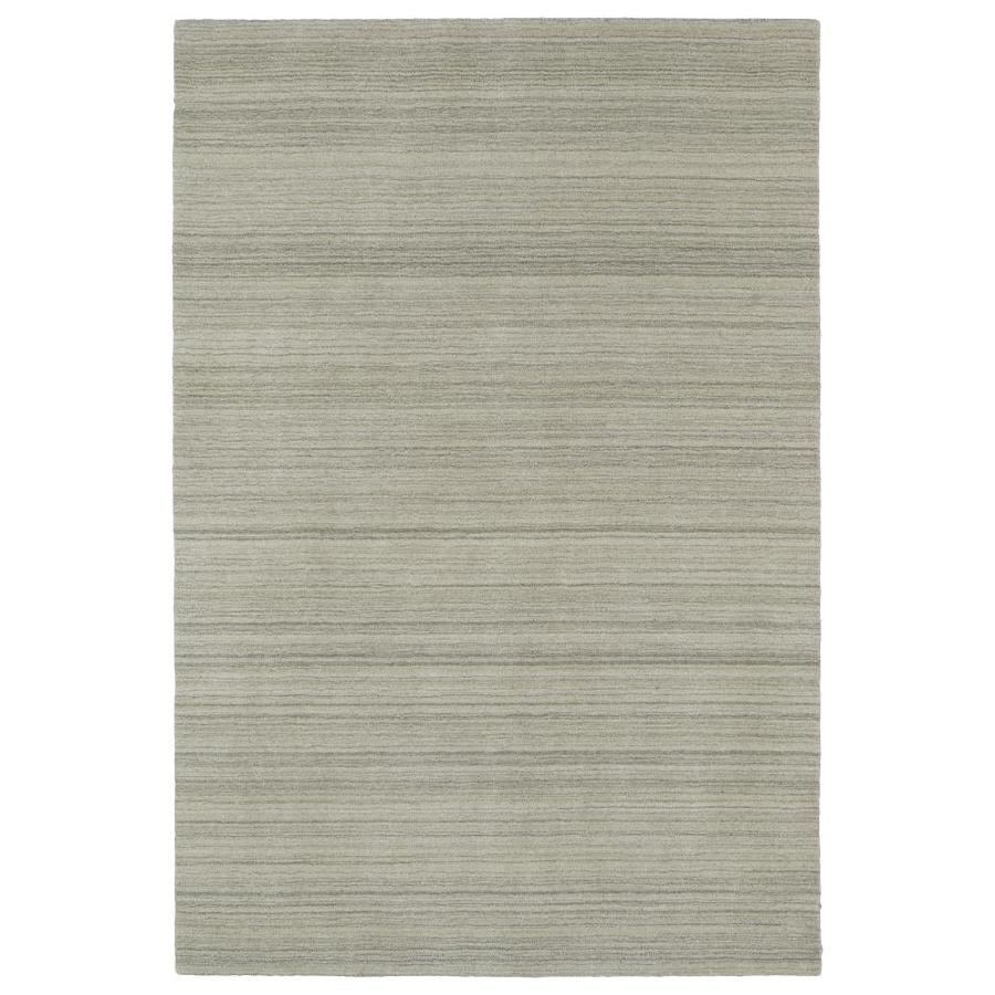 Kaleen Renaissance Ivory Indoor Handcrafted Lodge Area Rug (Common: 5 x 8; Actual: 5-ft W x 7.5-ft L)