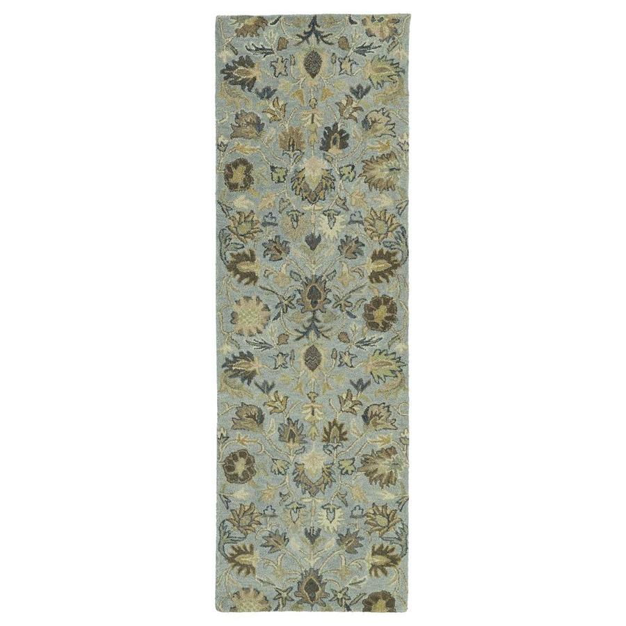 Kaleen Helena Spa Indoor Handcrafted Southwestern Runner (Common: 3 X 8; Actual: 2.5-ft W x 8-ft L)