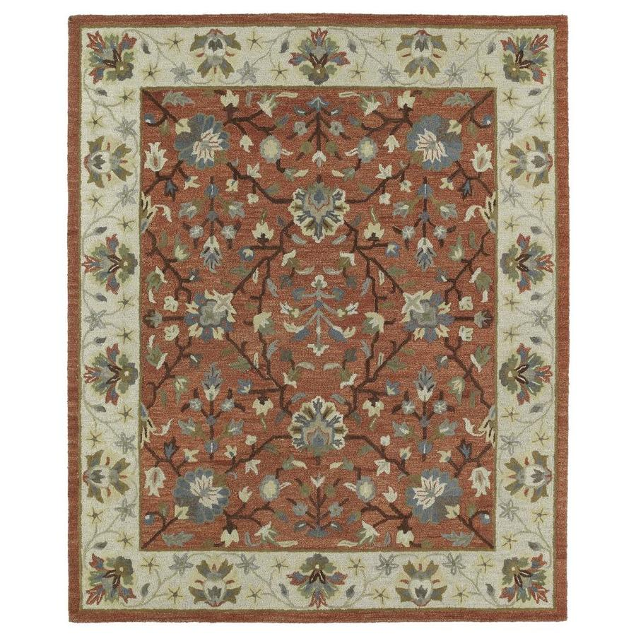 Kaleen Brooklyn Brick 2-ft x 3-ft Throw Rug