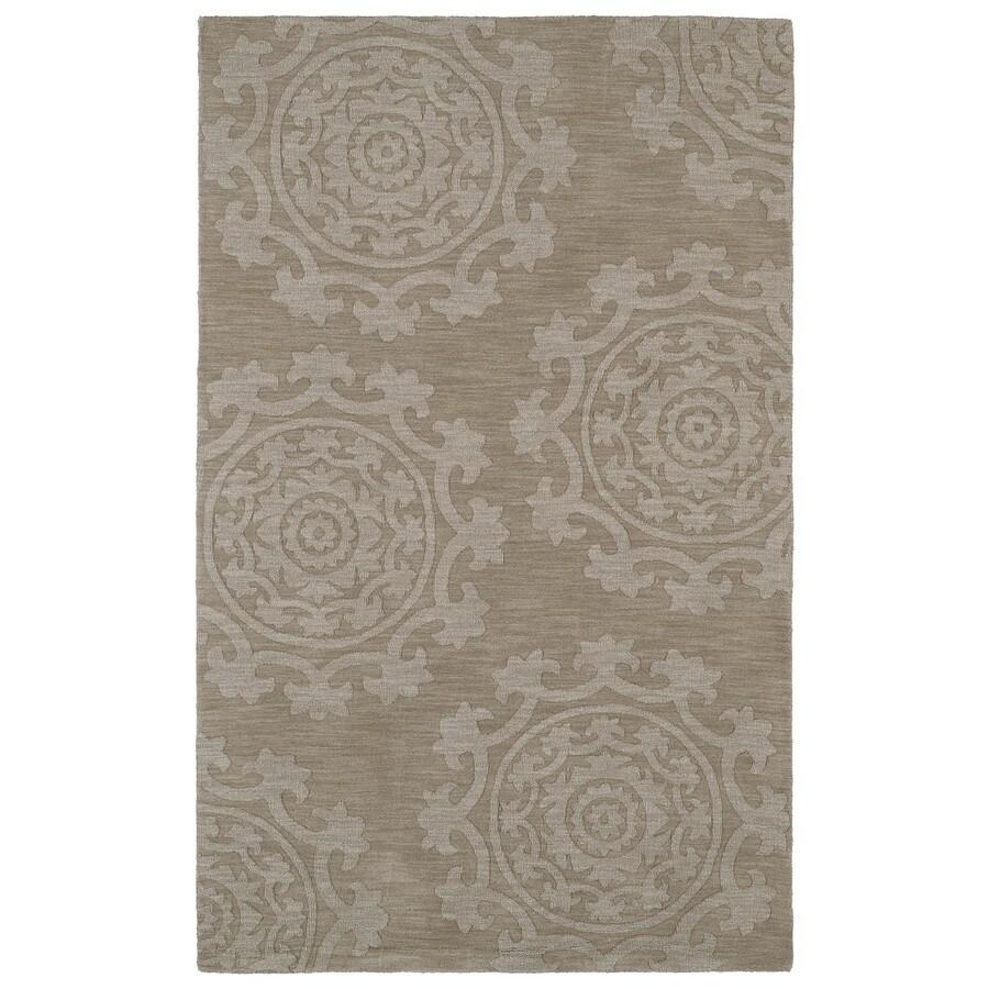 Kaleen Imprints Classic Light Brown Rectangular Indoor Handcrafted Southwestern Throw Rug (Common: 2 x 3; Actual: 2-ft W x 3-ft L)