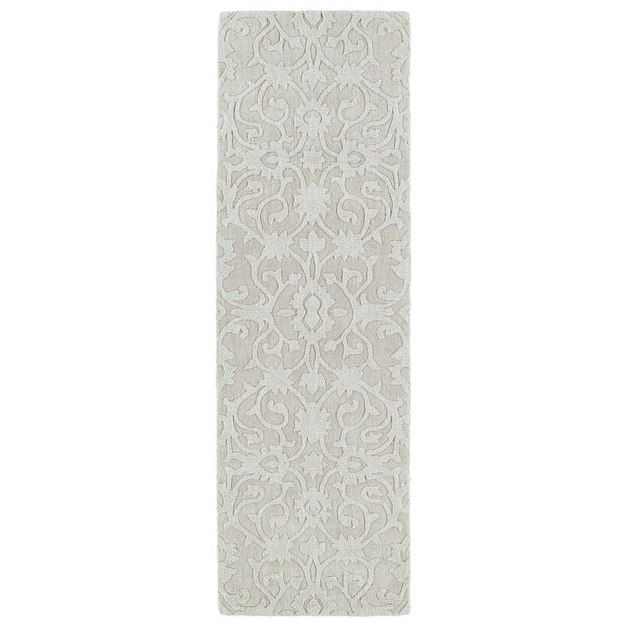Kaleen Imprints Classic Ivory Rectangular Indoor Tufted Southwestern Runner (Common: 2 x 8; Actual: 30-in W x 96-in L)