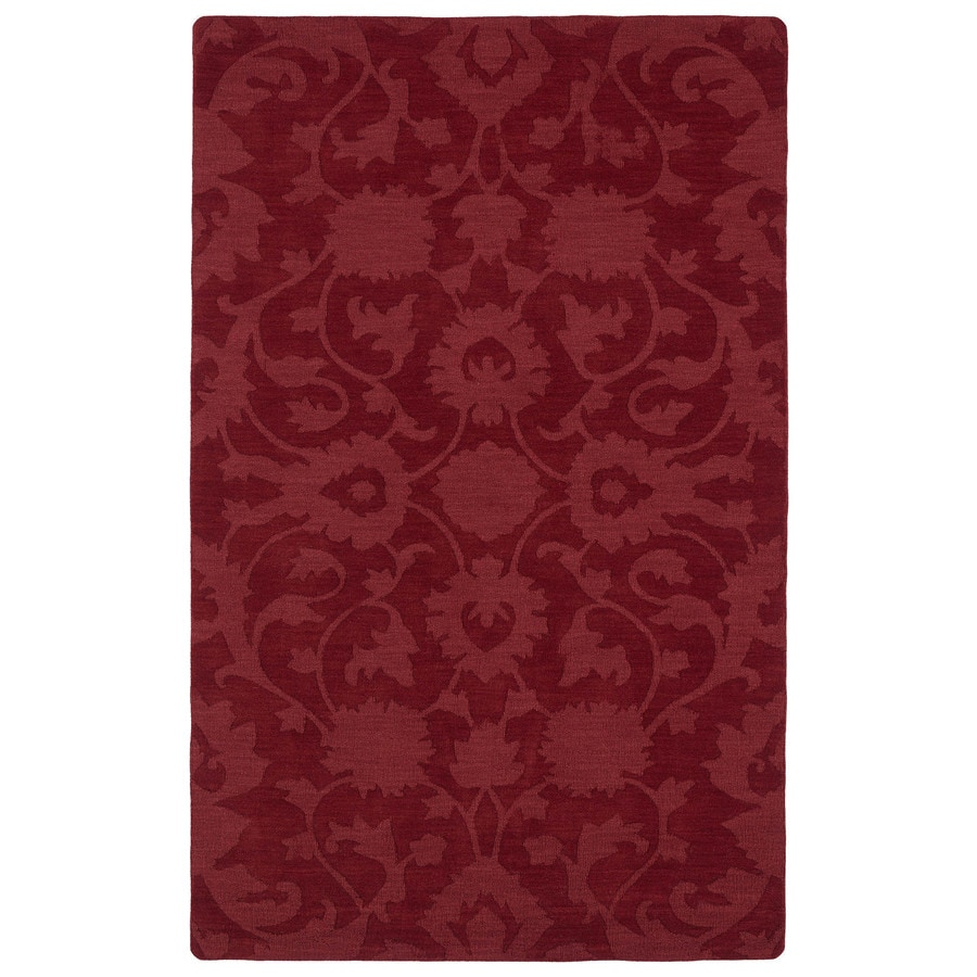 Kaleen Imprints Classic Red Rectangular Indoor Handcrafted Southwestern Area Rug (Common: 8X11; Actual: 8-ft W x 11-ft L)