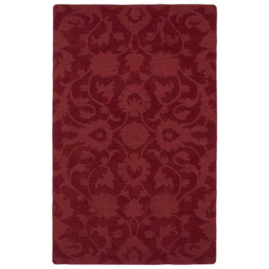 Kaleen Imprints Classic Red Rectangular Indoor Handcrafted Southwestern Area Rug (Common: 10 x 14; Actual: 9.5-ft W x 13.5-ft L)