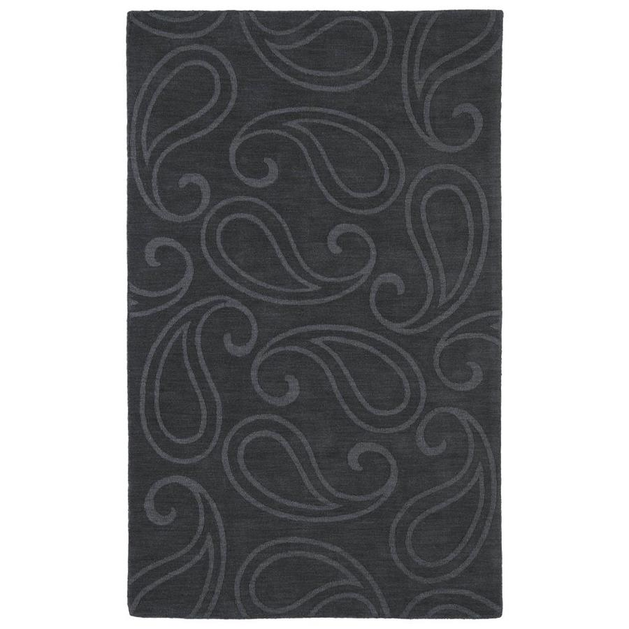 Kaleen Imprints Classic Charcoal Rectangular Indoor Handcrafted Southwestern Area Rug (Common: 8 x 11; Actual: 8-ft W x 11-ft L)