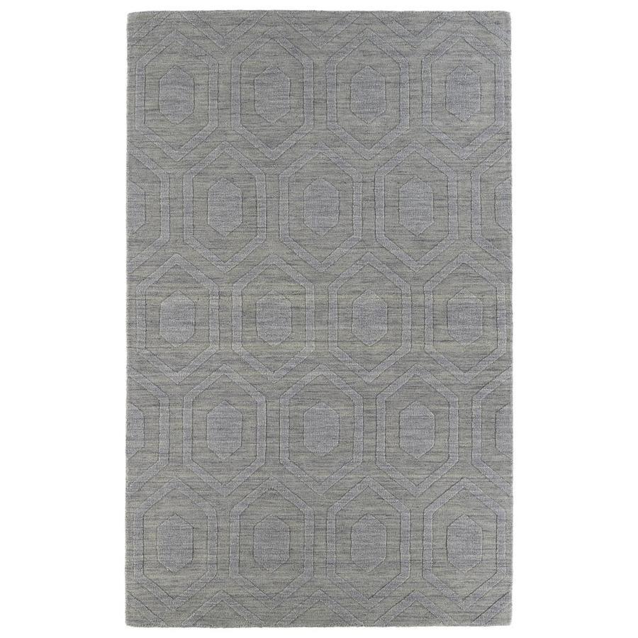 Kaleen Imprints Modern Steel Rectangular Indoor Handcrafted Moroccan Area Rug (Common: 5 x 8; Actual: 5-ft W x 8-ft L)