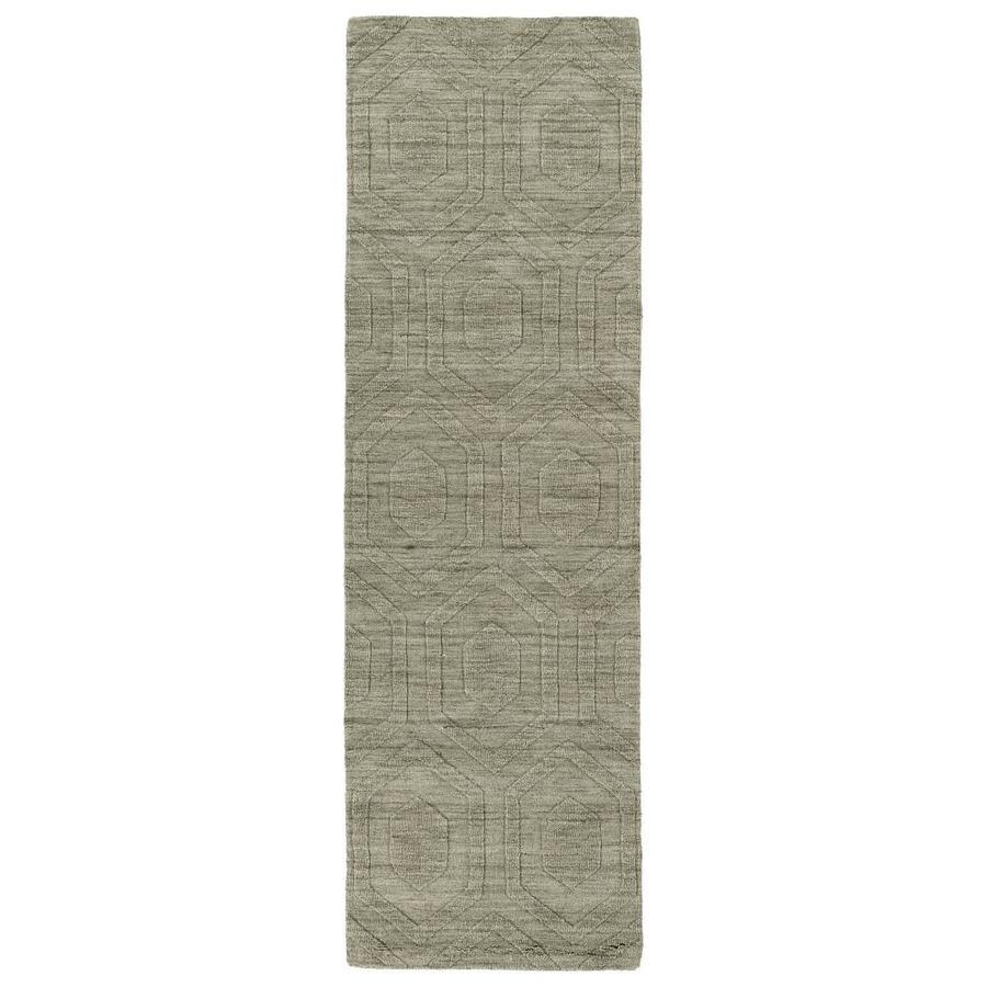 Kaleen Imprints Modern Light Brown Rectangular Indoor Handcrafted Moroccan Runner (Common: 3 X 8; Actual: 2.5-ft W x 8-ft L)