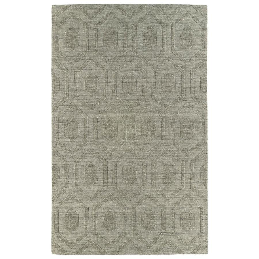 Kaleen IPM Lt. Brown 5-ft x 8-ft Area Rug