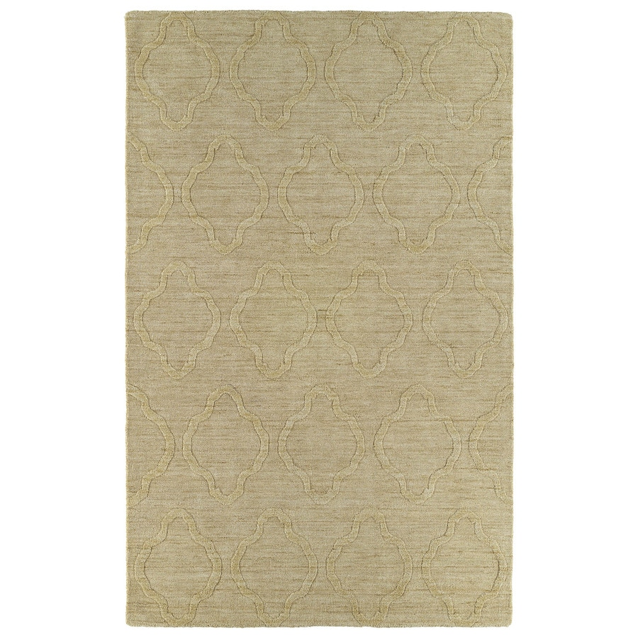 Kaleen Imprints Modern Yellow Rectangular Indoor Tufted Throw Rug (Common: 2 x 3; Actual: 24-in W x 36-in L)