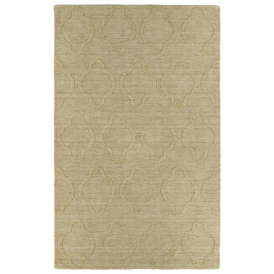 Kaleen Imprints Modern Yellow Rectangular Indoor Handcrafted Moroccan Throw Rug (Common: 2 x 3; Actual: 2-ft W x 3-ft L x 0-ft Dia)