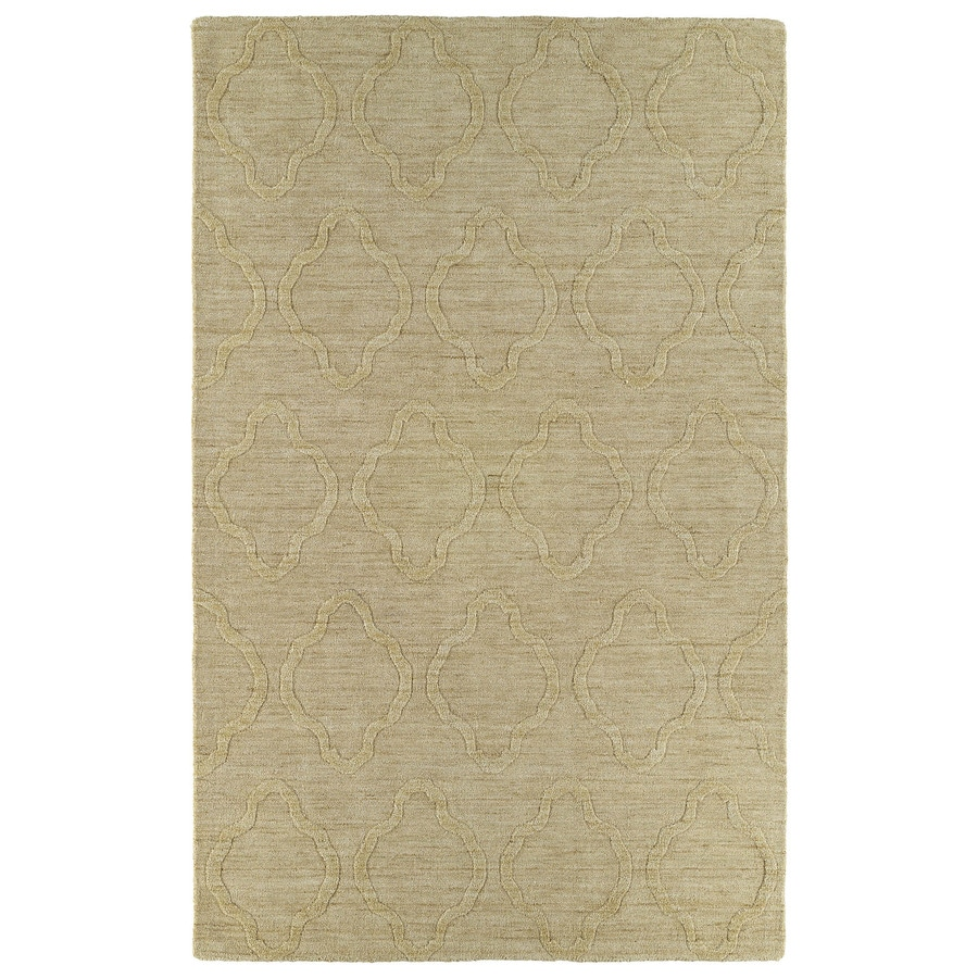 Kaleen Imprints Modern Yellow Rectangular Indoor Tufted Area Rug (Common: 4 x 6; Actual: 42-in W x 66-in L)