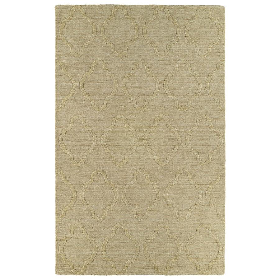 Kaleen Imprints Modern Yellow Rectangular Indoor Handcrafted Moroccan Area Rug (Common: 8X11; Actual: 8-ft W x 11-ft L)