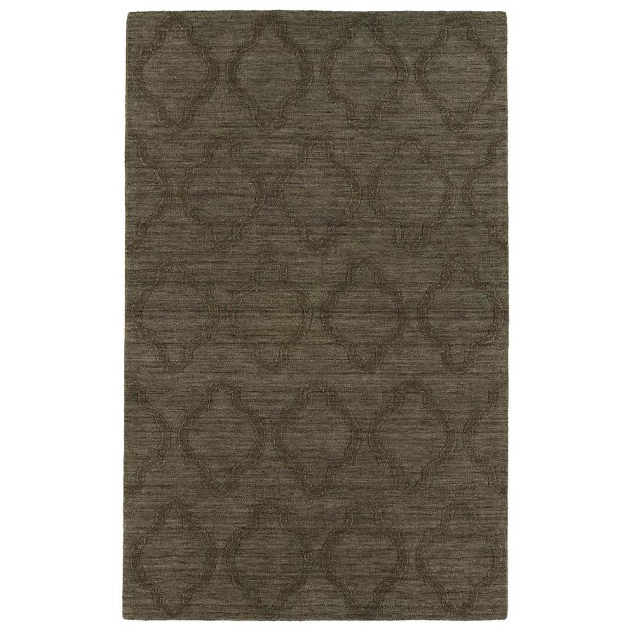 Kaleen Imprints Modern Chocolate Rectangular Indoor Handcrafted Moroccan Area Rug (Common: 8 x 11; Actual: 8-ft W x 11-ft L)