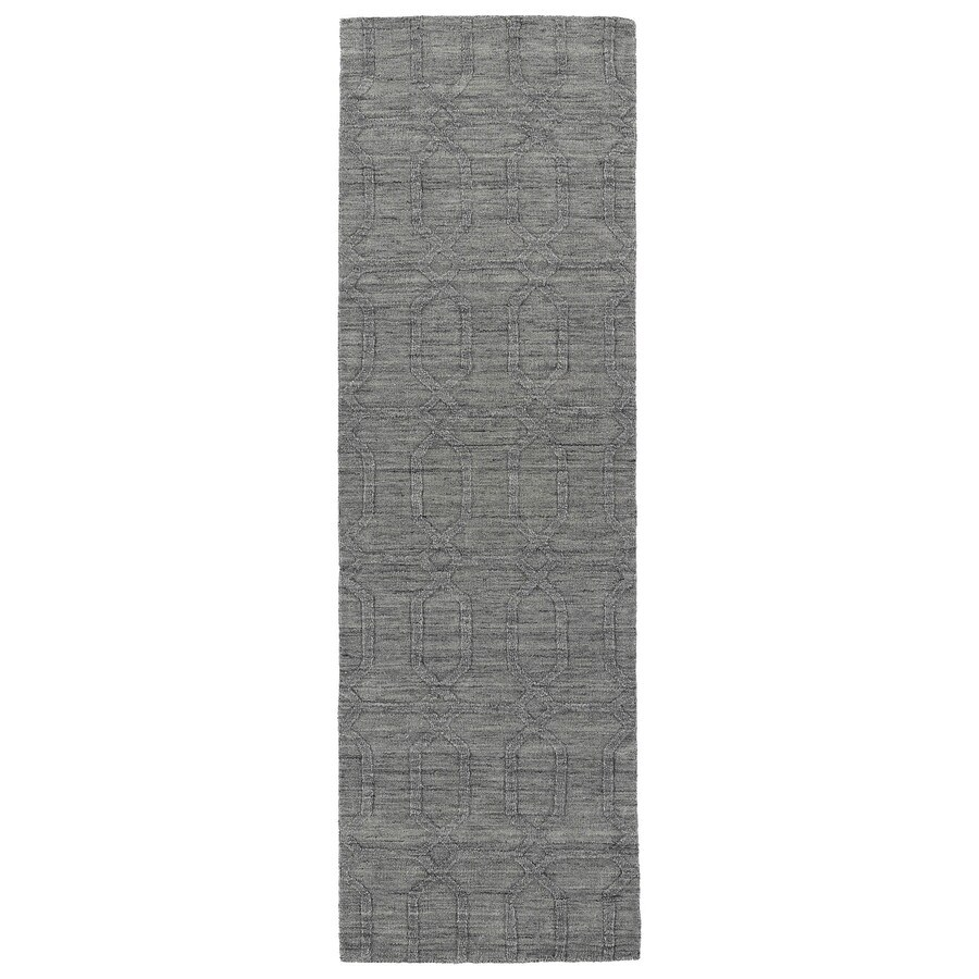 Kaleen Imprints Modern Grey Rectangular Indoor Tufted Southwestern Runner (Common: 2 x 8; Actual: 30-in W x 96-in L)