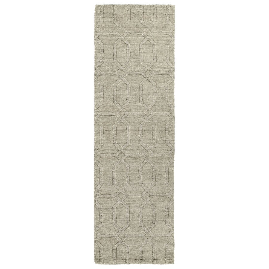Kaleen Imprints Modern Oatmeal Rectangular Indoor Tufted Southwestern Runner (Common: 2 x 8; Actual: 30-in W x 96-in L)