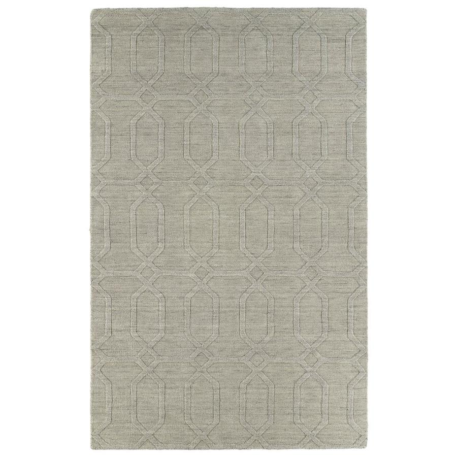 Kaleen Imprints Modern Oatmeal Indoor Handcrafted Moroccan Area Rug (Common: 10 x 14; Actual: 9.5-ft W x 13.5-ft L)