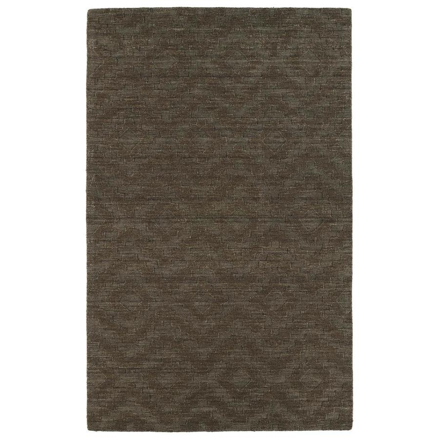 Kaleen IPM Chocolate 8-ft x 11-ft Area Rug