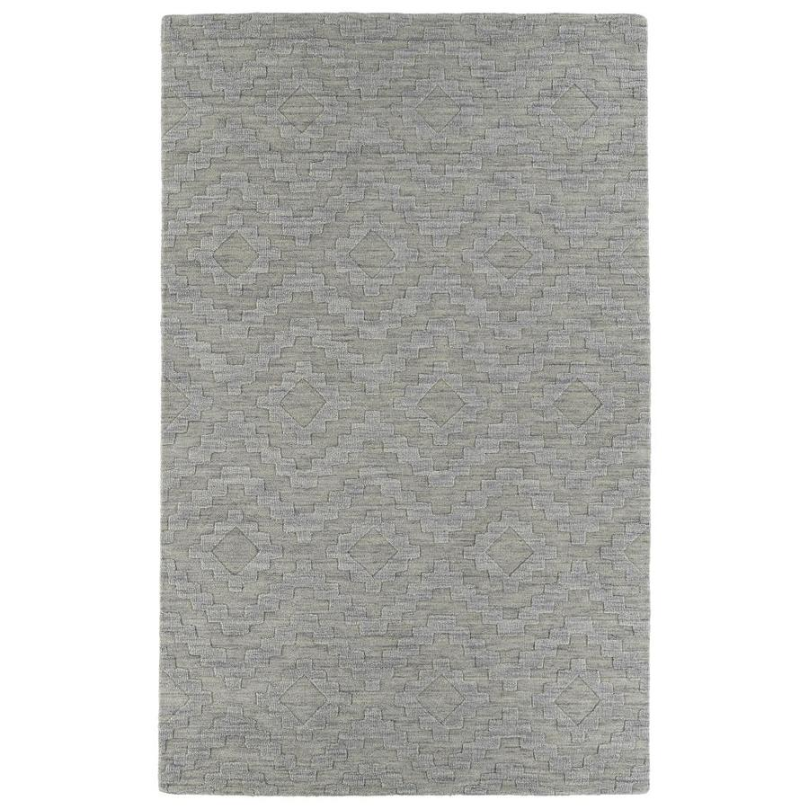 Kaleen Imprints Modern Oatmeal Rectangular Indoor Handcrafted Moroccan Area Rug (Common: 10 x 14; Actual: 9.5-ft W x 13.5-ft L)