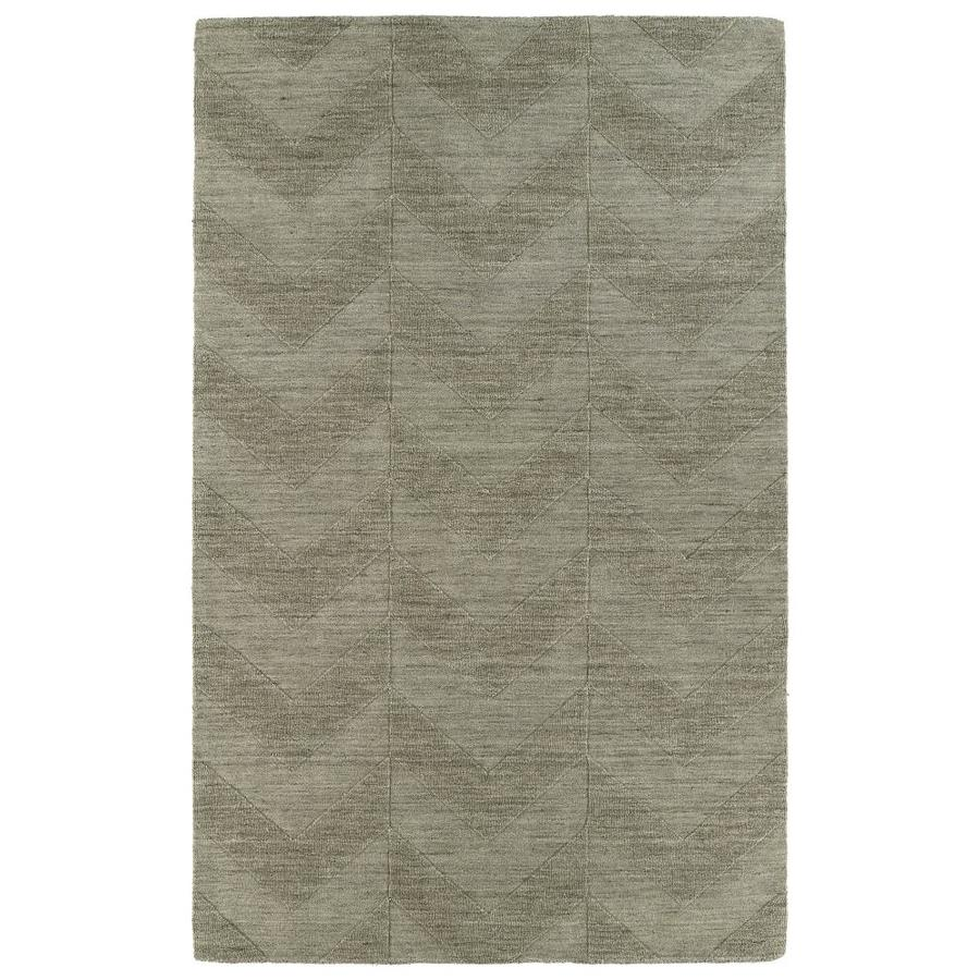 Kaleen Imprints Modern Light Brown Rectangular Indoor Handcrafted Moroccan Area Rug (Common: 10 x 14; Actual: 9.5-ft W x 13.5-ft L)