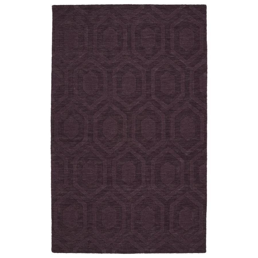 Kaleen Imprints Modern Purple Rectangular Indoor Handcrafted Moroccan Area Rug (Common: 8 x 11; Actual: 8-ft W x 11-ft L)