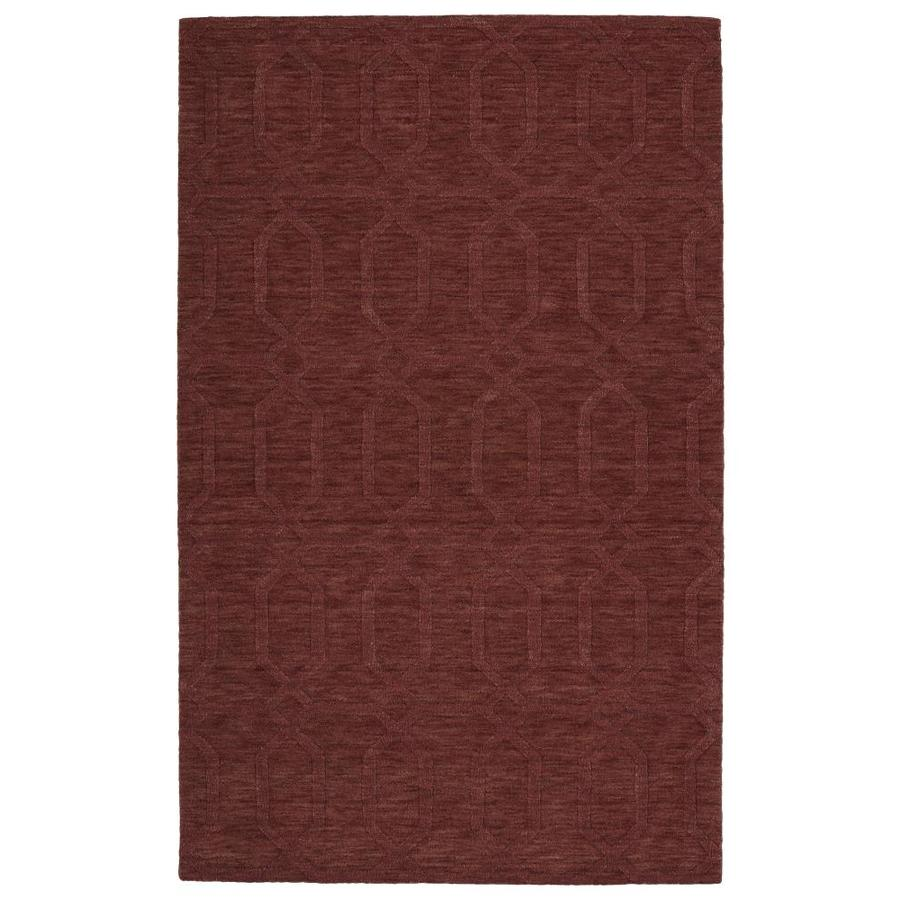 Kaleen Imprints Modern Cinnamon Rectangular Indoor Handcrafted Moroccan Throw Rug (Common: 2 x 3; Actual: 2-ft W x 3-ft L)