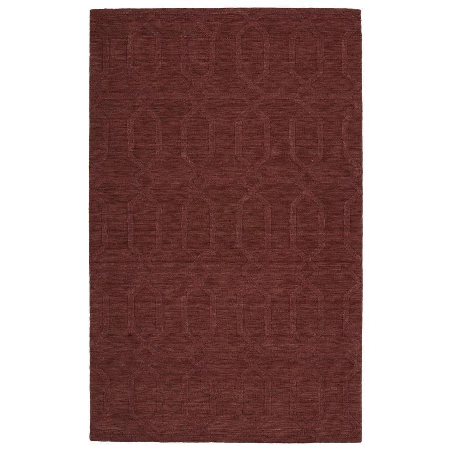 Kaleen Imprints Modern Cinnamon Indoor Handcrafted Moroccan Area Rug (Common: 8 x 11; Actual: 8-ft W x 11-ft L)