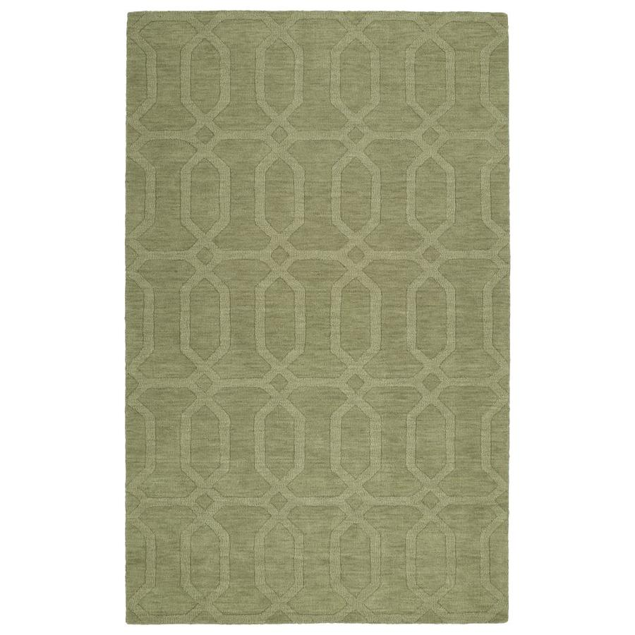 Kaleen Imprints Modern Sage Indoor Handcrafted Moroccan Throw Rug (Common: 2 x 3; Actual: 2-ft W x 3-ft L)