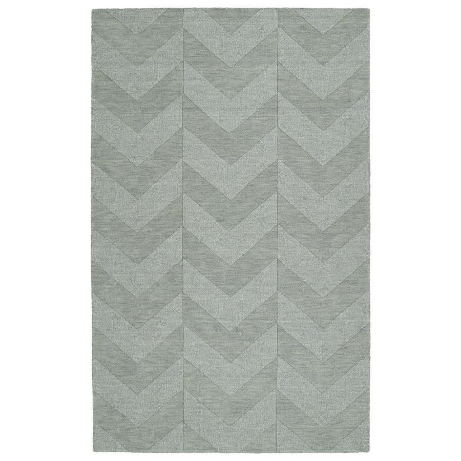 Kaleen Imprints Modern Spa Rectangular Indoor Handcrafted Moroccan Area Rug (Common: 10 x 14; Actual: 9.5-ft W x 13.5-ft L)