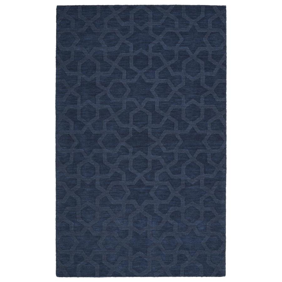 Kaleen Imprints Modern Navy Indoor Handcrafted Moroccan Area Rug (Common: 10 x 14; Actual: 9.5-ft W x 13.5-ft L)