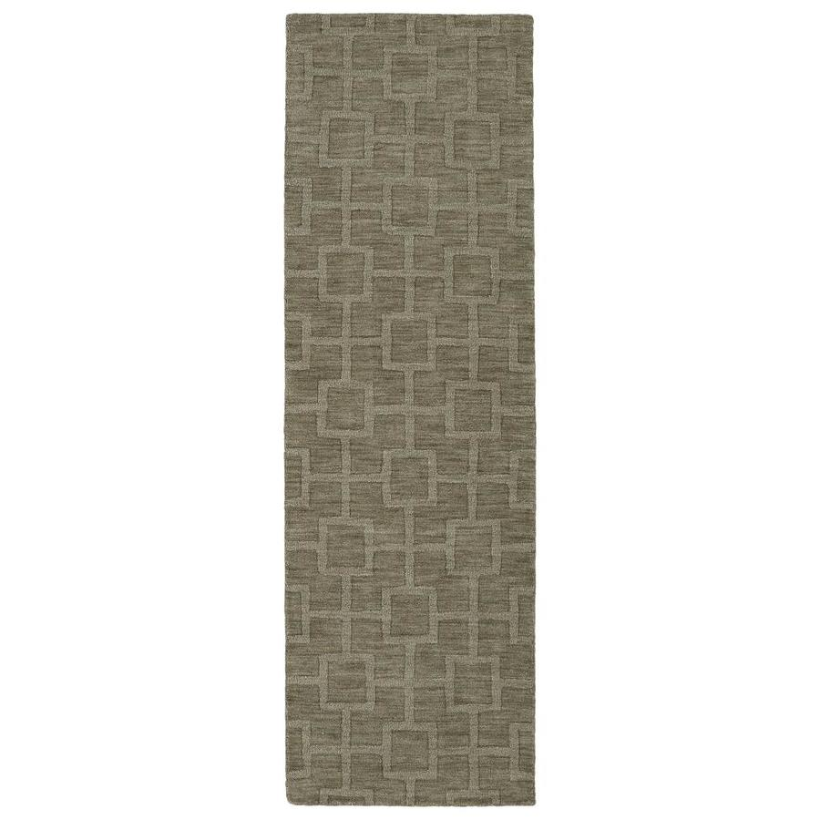 Kaleen Imprints Modern Taupe Rectangular Indoor Handcrafted Moroccan Runner (Common: 3 X 8; Actual: 2.5-ft W x 8-ft L)