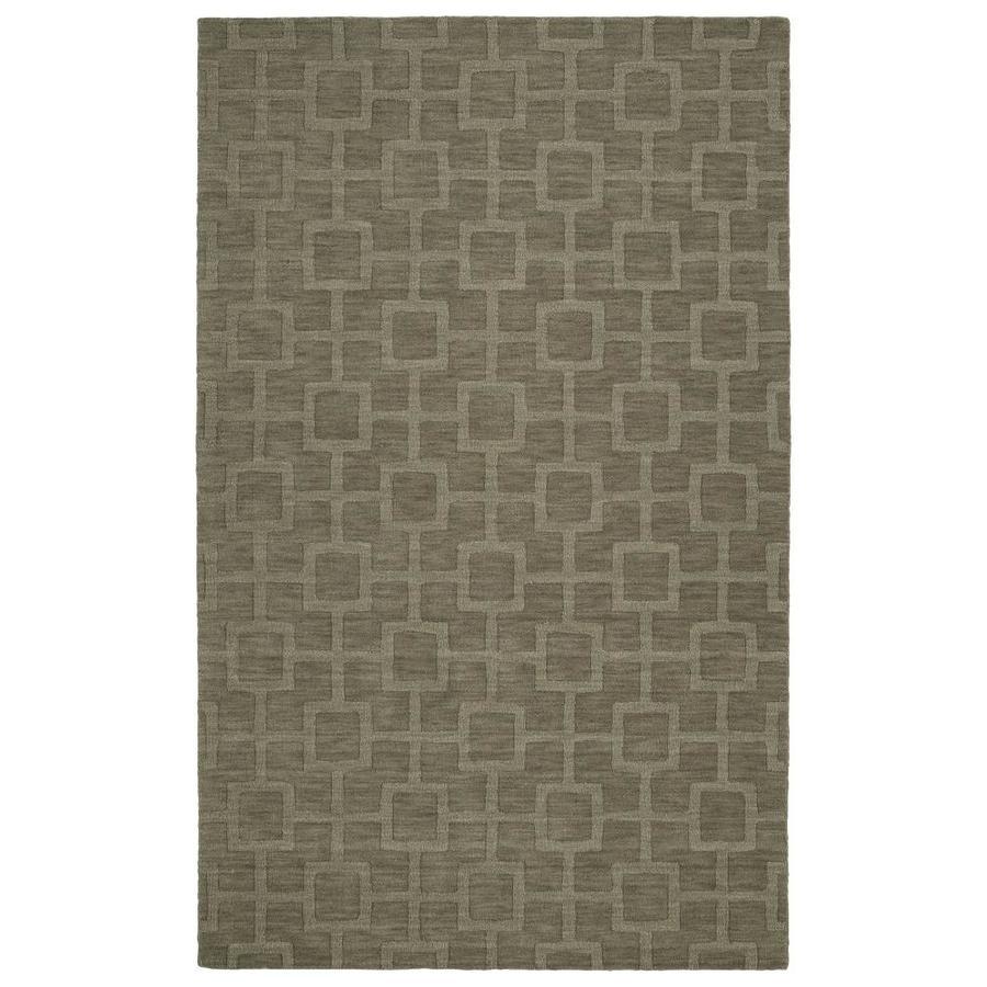 Kaleen Imprints Modern Taupe Rectangular Indoor Handcrafted Moroccan Area Rug (Common: 4 x 6; Actual: 3.5-ft W x 5.5-ft L)