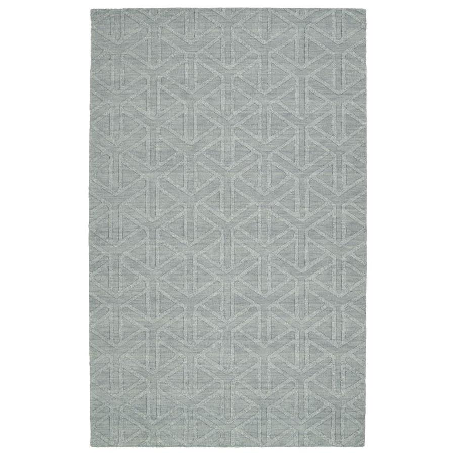 Kaleen Imprints Modern Light Blue Rectangular Indoor Handcrafted Moroccan Area Rug (Common: 8 x 11; Actual: 8-ft W x 11-ft L)