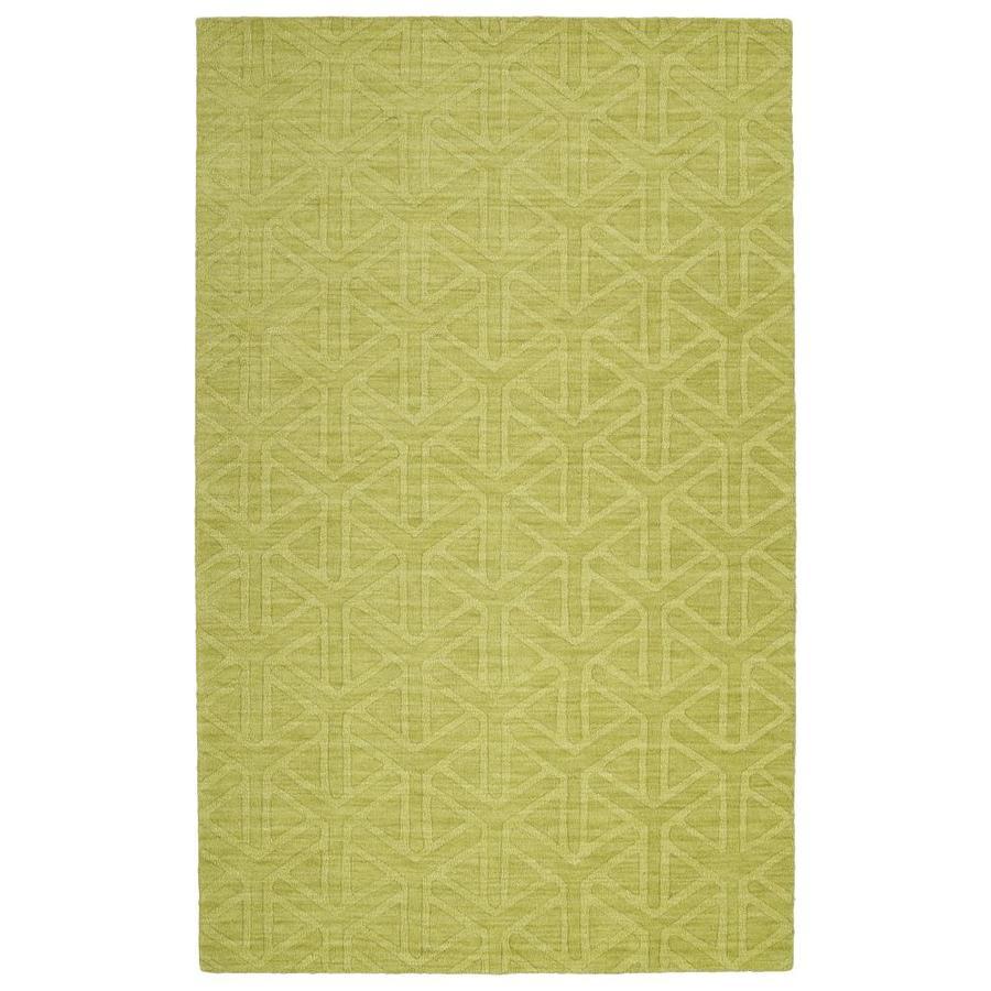 Kaleen Imprints Modern Wasabi Indoor Handcrafted Moroccan Area Rug (Common: 8 x 11; Actual: 8-ft W x 11-ft L)
