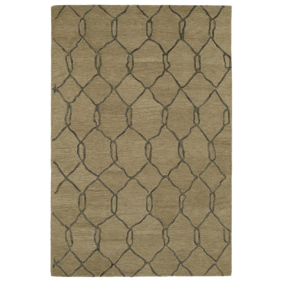 Kaleen Casablanca Light Brown Rectangular Indoor Handcrafted Moroccan Area Rug (Common: 2 x 10; Actual: 3-ft W x 10-ft L)