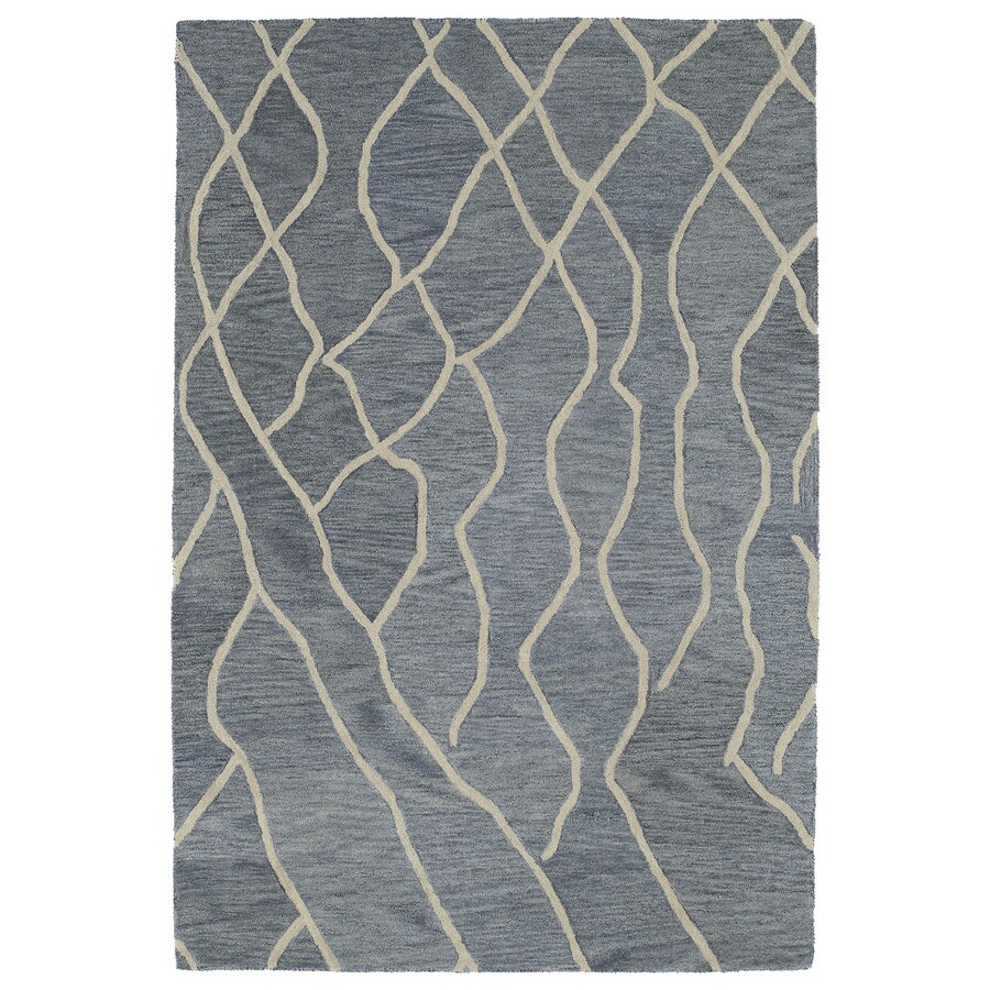 Kaleen Casablanca Grey Indoor Handcrafted Moroccan Area