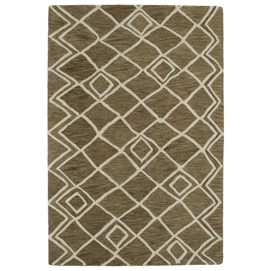 Kaleen Casablanca Brown Indoor Handcrafted Moroccan Throw Rug (Common: 2 x 3; Actual: 2-ft W x 3-ft L)