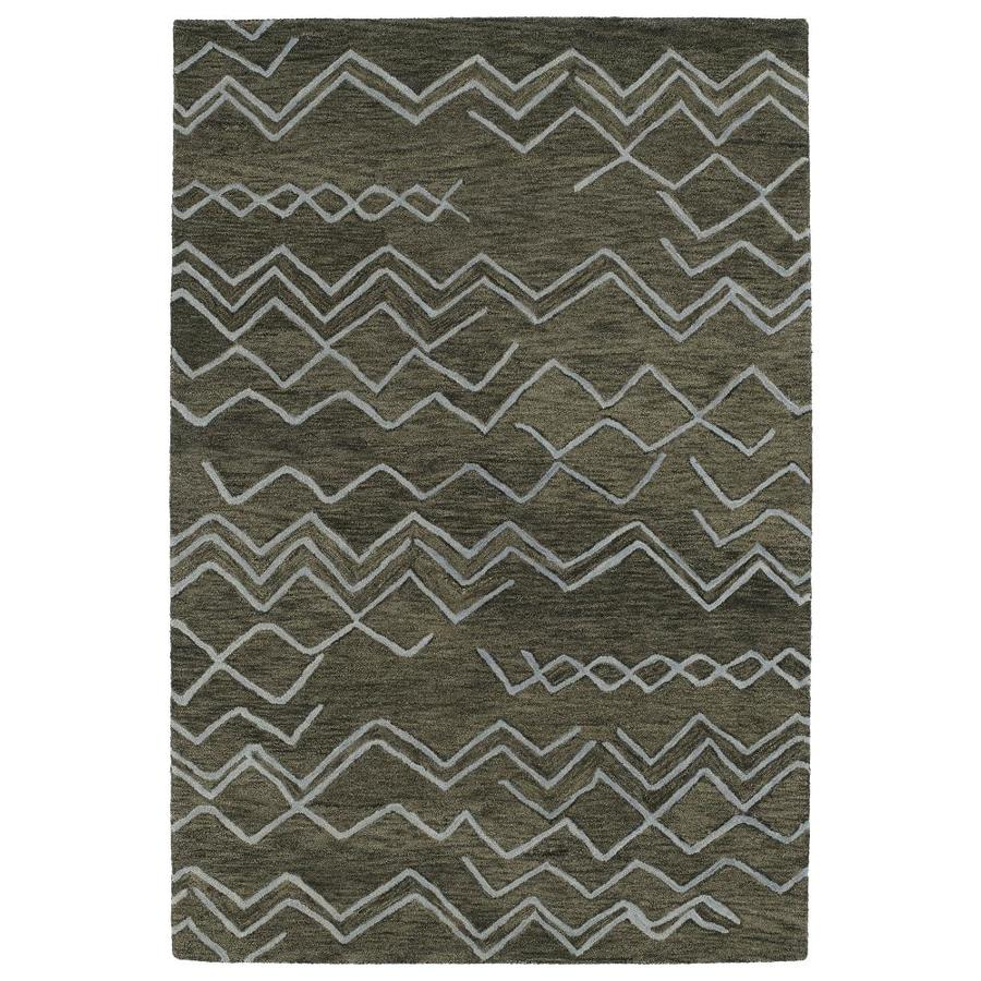 Kaleen Casablanca Ash Indoor Handcrafted Moroccan Throw Rug (Common: 2 x 3; Actual: 2-ft W x 3-ft L)