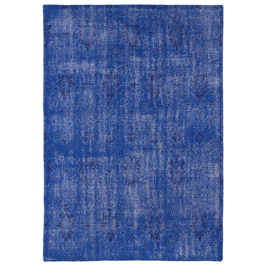 Kaleen Restoration Blue Rectangular Indoor Handcrafted Southwestern Throw Rug (Common: 2 x 3; Actual: 2-ft W x 3-ft L)