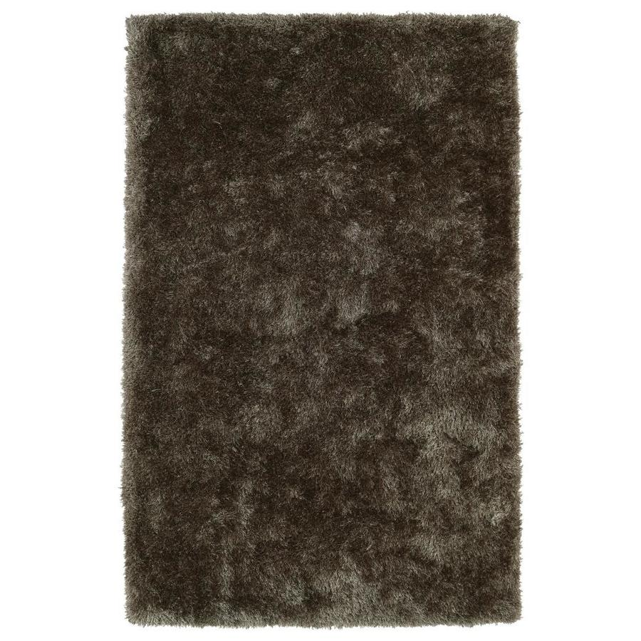 Kaleen Posh Light Brown Rectangular Indoor Handcrafted Novelty Area Rug (Common: 5 x 7; Actual: 5-ft W x 7-ft L)