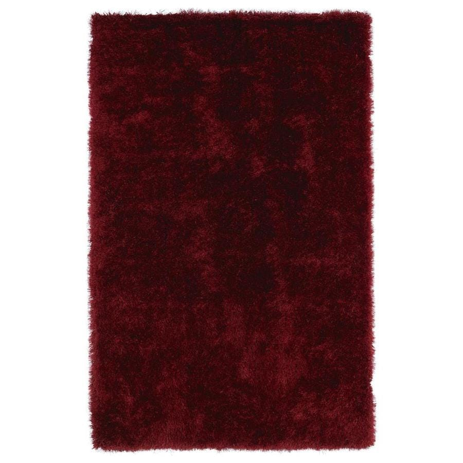 Kaleen Posh Brick Rectangular Indoor Handcrafted Novelty Area Rug (Common: 5 x 7; Actual: 5-ft W x 7-ft L)