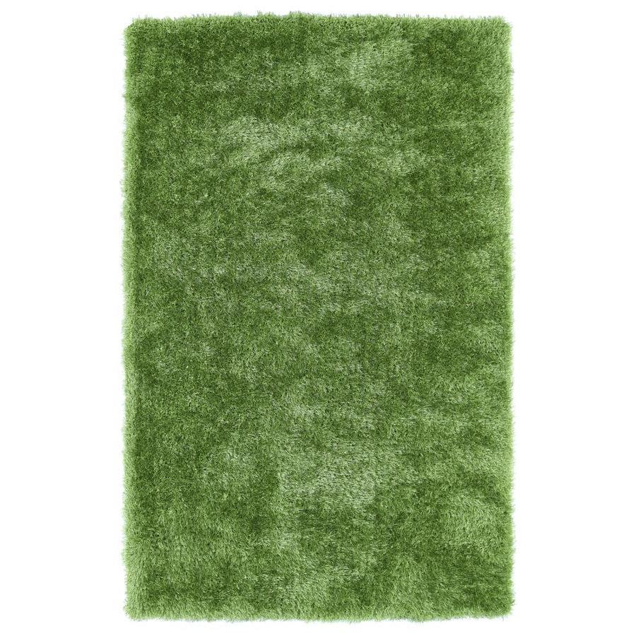 Kaleen Posh Lime Green 2-ft x 3-ft Throw Rug