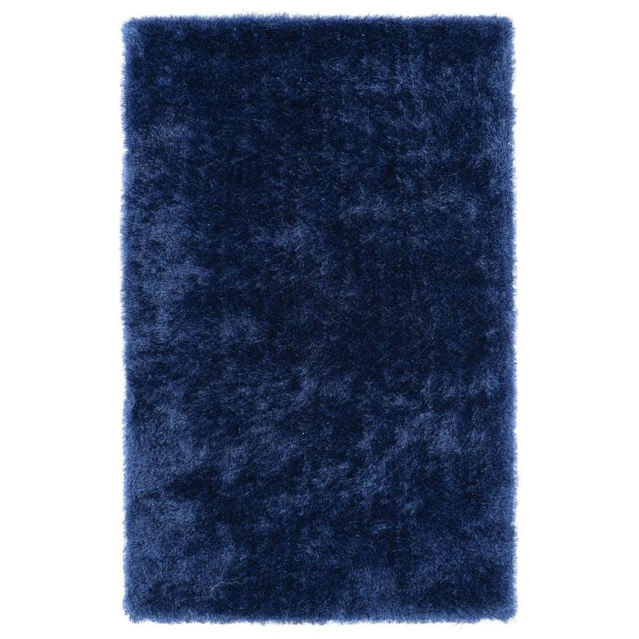 Kaleen Posh Denim Indoor Handcrafted Novelty Throw Rug (Common: 3 x 5; Actual: 3-ft W x 5-ft L)