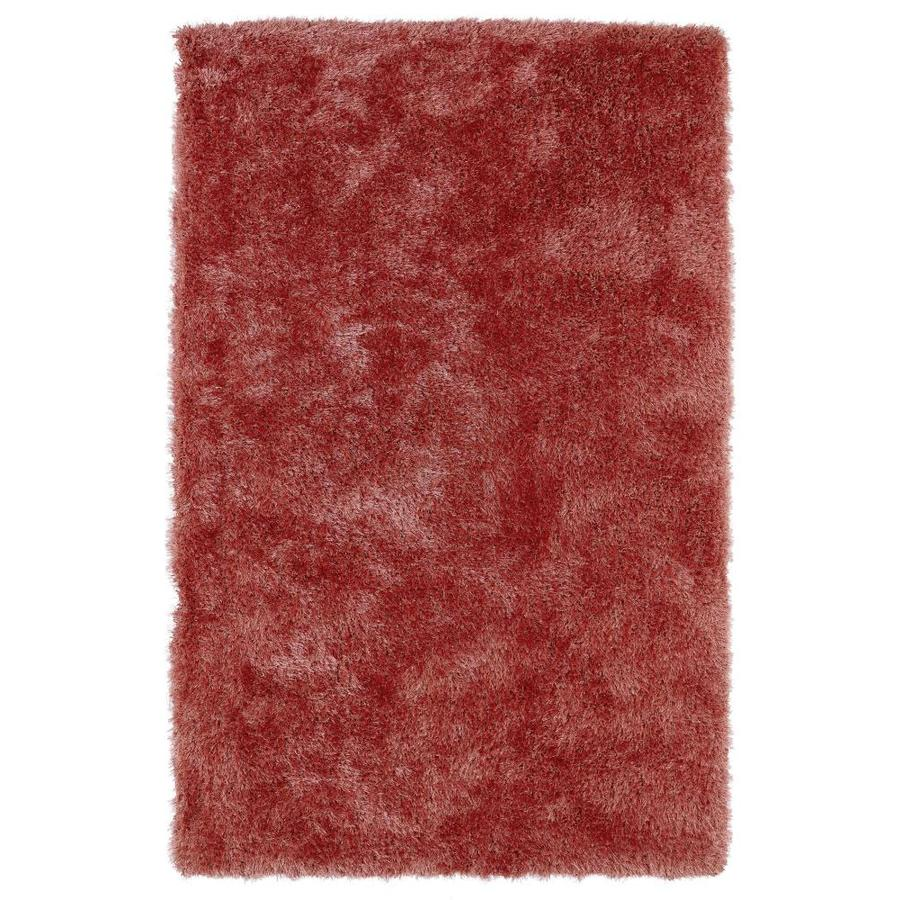 Kaleen Posh Coral Rectangular Indoor Handcrafted Novelty Area Rug (Common: 5 x 7; Actual: 5-ft W x 7-ft L)