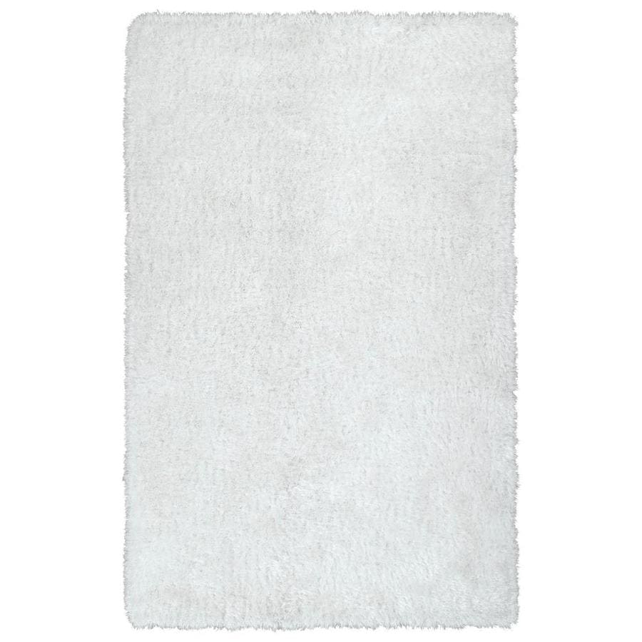 Kaleen Posh White Rectangular Indoor Handcrafted Novelty Area Rug (Common: 9 X 12; Actual: 9-ft W x 12-ft L)