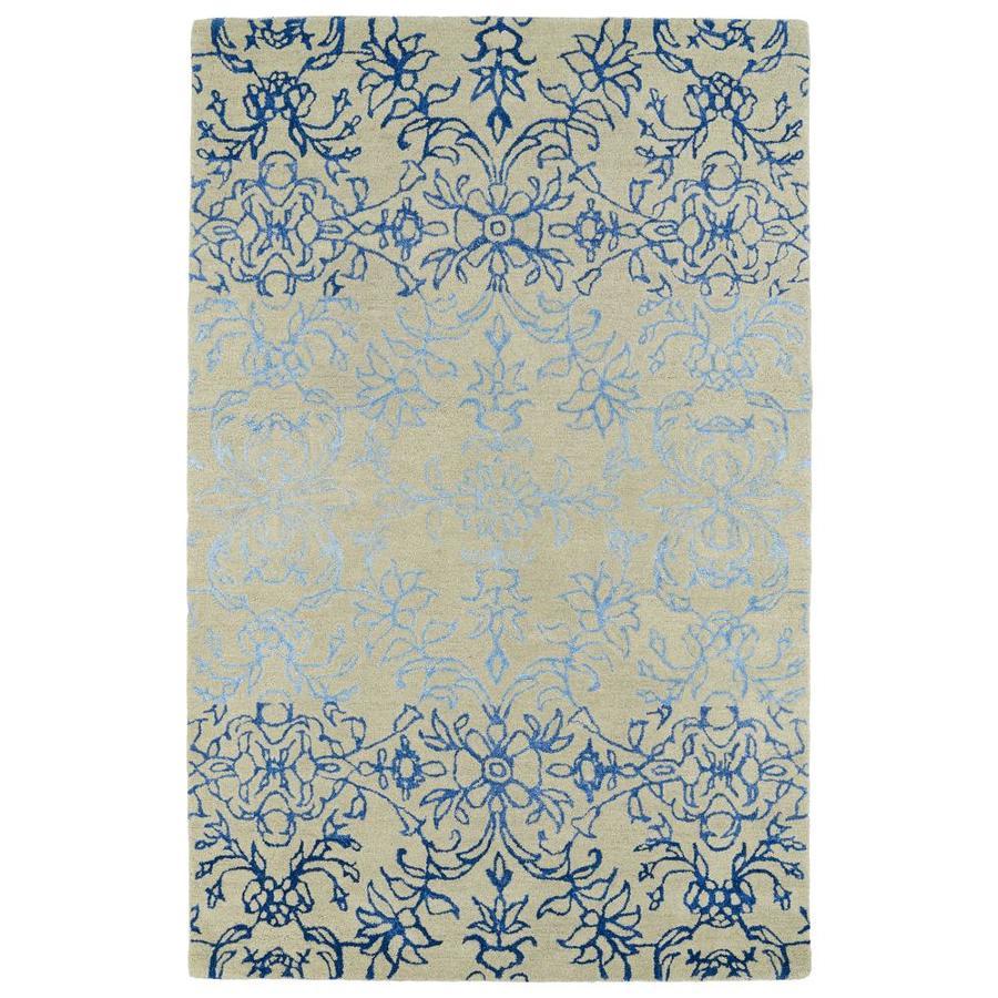 Kaleen Divine Linen Rectangular Indoor Handcrafted Nature Area Rug (Common: 4 x 6; Actual: 3.5-ft W x 5.5-ft L)