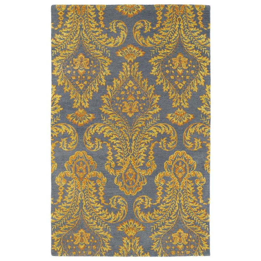 Kaleen Divine Fire Rectangular Indoor Handcrafted Oriental Area Rug (Common: 5 x 8; Actual: 5-ft W x 7.75-ft L)