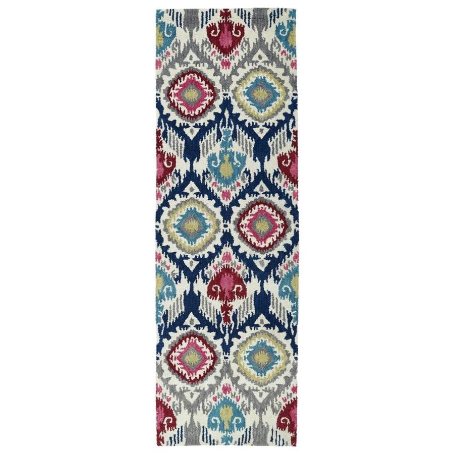 Kaleen Global Inspiration Indoor Handcrafted Southwestern Runner (Common: 2 x 8; Actual: 2.5-ft W x 8-ft L)