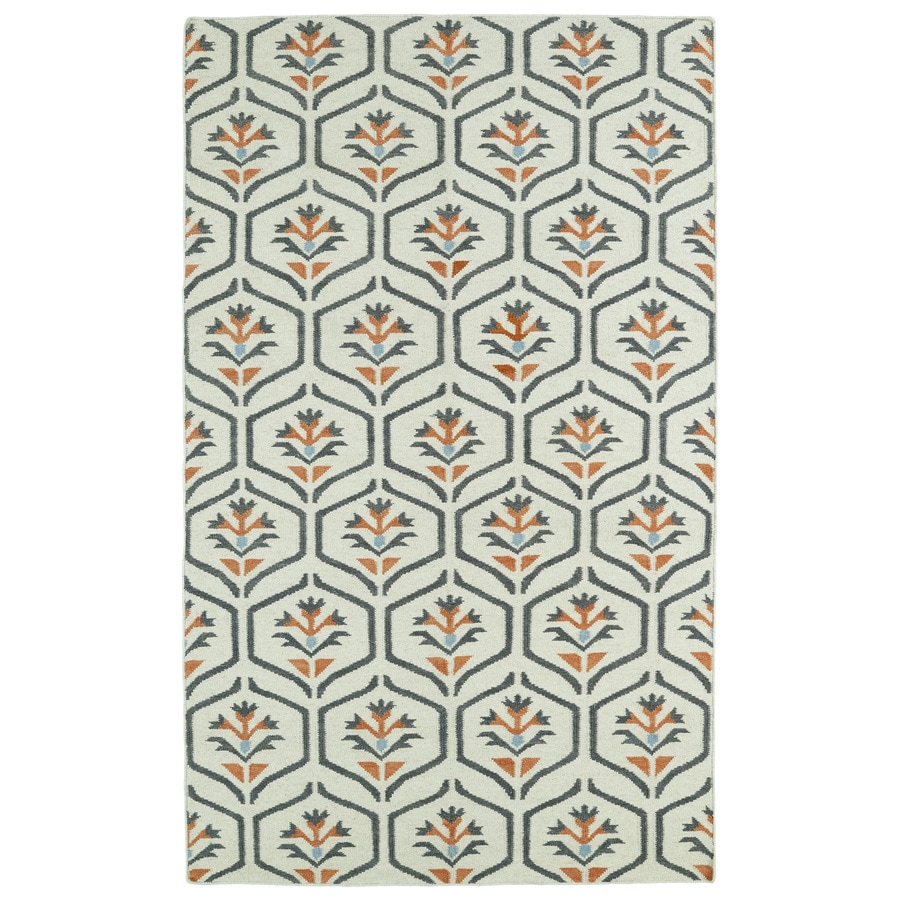Kaleen Glam Coral Rectangular Indoor Woven Nature Area Rug (Common: 4 x 6; Actual: 42-in W x 66-in L)