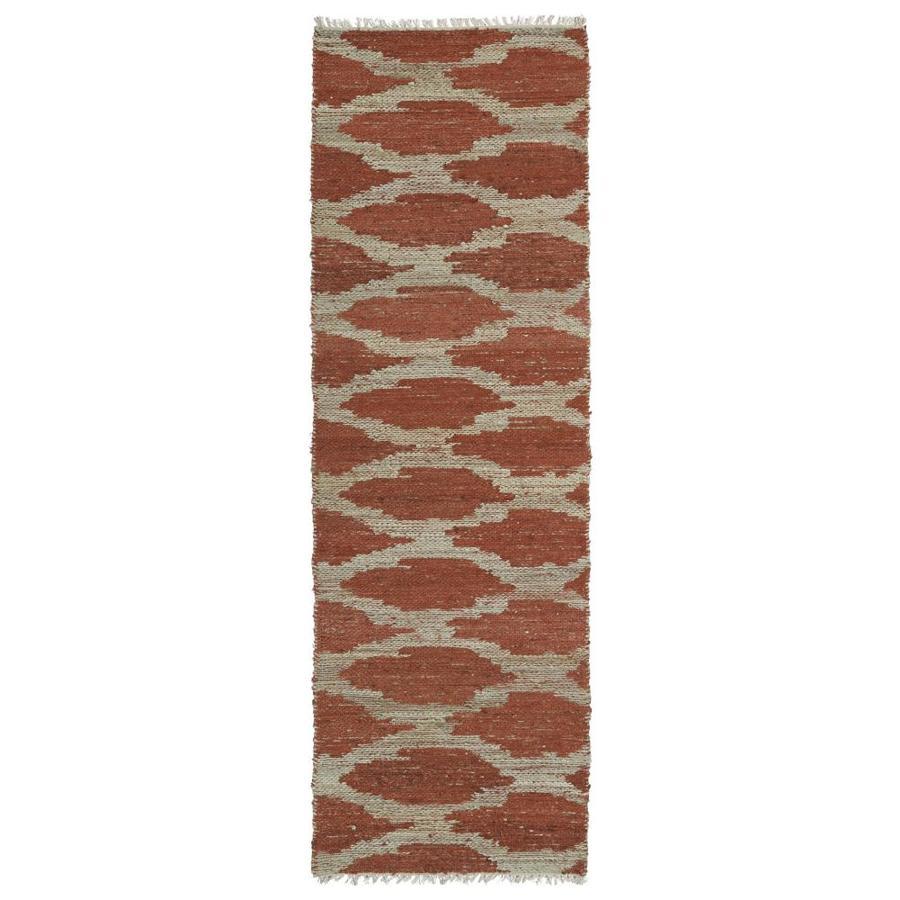 Kaleen Kenwood Paprika Rectangular Indoor Handcrafted Oriental Runner (Common: 2 x 6; Actual: 2-ft W x 6-ft L)