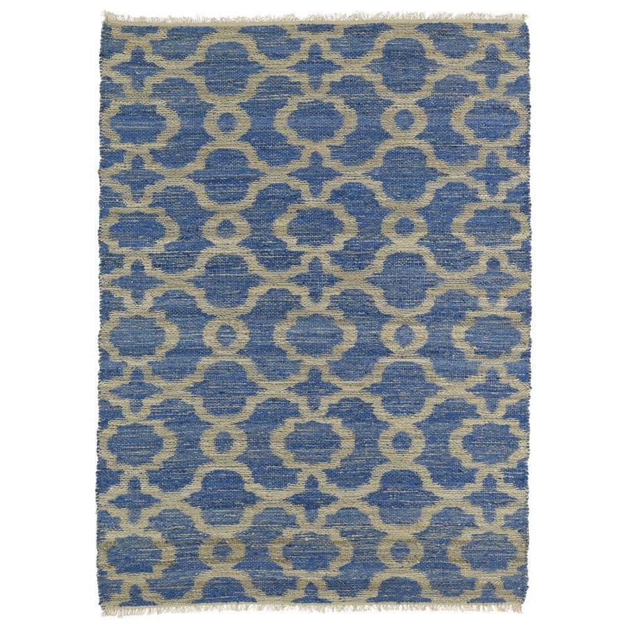 Kaleen Kenwood Blue Indoor Handcrafted Oriental Area Rug (Common: 8 x 11; Actual: 8-ft W x 11-ft L)