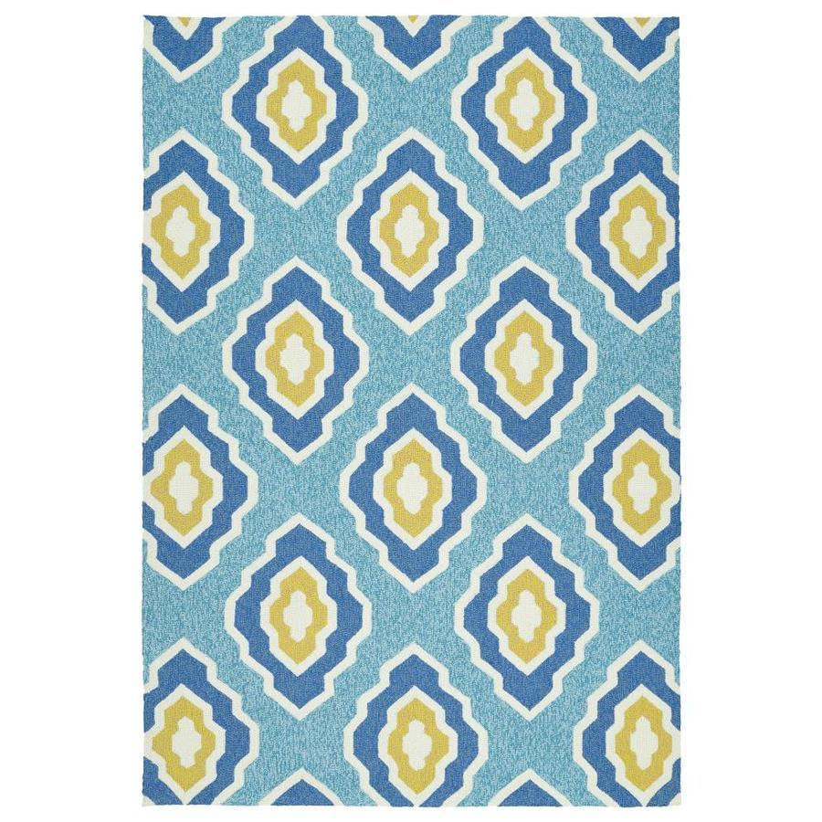 Kaleen Escape Blue 4 Ft. x 6 Ft. Area Rug